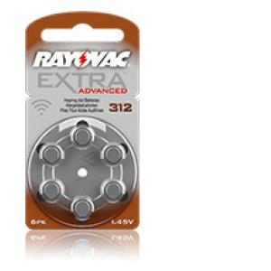 Rayovac Mercury Free 312