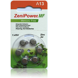 Size 13 Zenipower HP - 5 packets (30 cells)