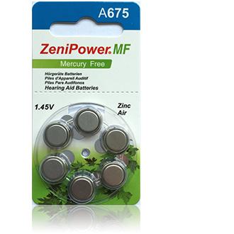 Size 675 Zenipower HP - 5 packets (30 cells)