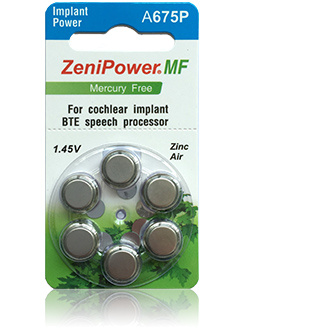 Zenipower Implant Power - 1 packet (6 cells)