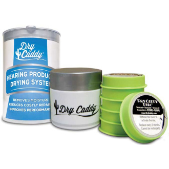 Dry Caddy jar with six Desiccant Discs