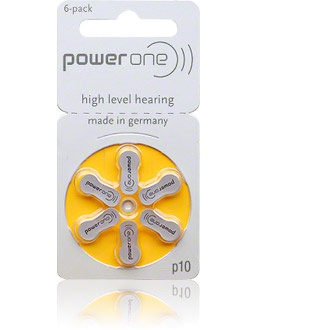 Size 10 Power One - 1 packet (6 cells)