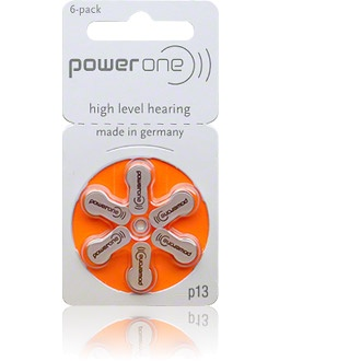 Size 13 Power One - 1 packet (6 cells)