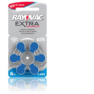 Rayovac Extra Advanced 675 - 10 packets (6 cells)