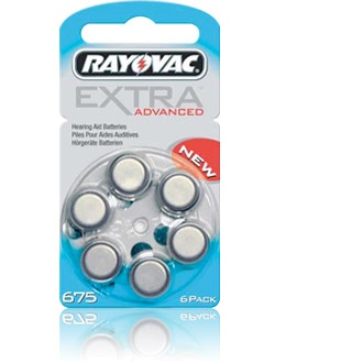 Rayovac Extra Advanced 675 - 5 packets (30 cells)